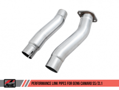 AEW Tuning 3010-11096 Performance Link Pipes Chevrolet Camaro SS/ZL1 16-19