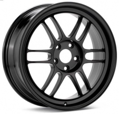 Enkei 3797906545BK RPF1 17×9 5×114.3 45mm Offset 73mm Bore Matte Black Wheel