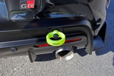 Perrin PTP-BDY-250NY 2020 Toyota Supra Tow Hook Kit (Rear) – Neon Yellow