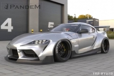 Greddy 66910404 Pandem RB 2019+ Toyota Supra A90 Front Fenders