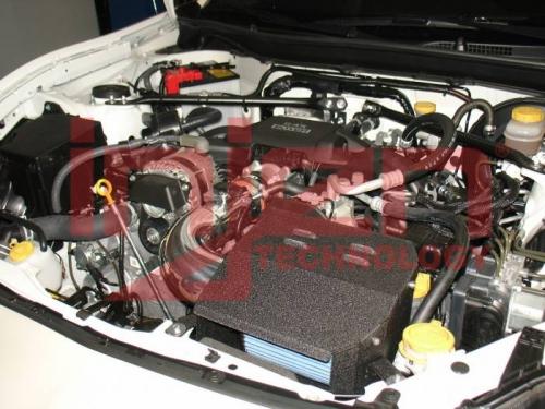 Injen SP1230P 13+ Scion FR-S Subaru BRZ Toyota 86 2.0L Polished Short Ram Intake w MR TechAir Fusion 1