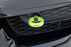 Perrin PTP-BDY-230NY 2020 Toyota Supra Tow Hook Kit (Front) – Neon Yellow