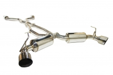 Invidia HS09N7ZGD1GS 2009+ Nissan 370Z Dual N1 GT SS Tip Cat-back Exhaust