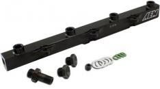 AEM 25-112BK 00-05 Honda S2000 Black High Volume Fuel Rail