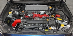 AEM 21-735WR 15-17 Subaru WRX STi 2.5L H4 – Cold Air Intake System – Wrinkle Red