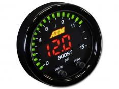 AEM 30-0309 X-Series 0-15psi Boost/Fuel Pressure Gauge Kit