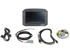 AEM 30-5701F CD-7L Carbon Logging Flush Digital Dash Display
