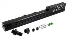 AEM 25-103BK 99-00 Honda Civic Si Black Fuel Rail