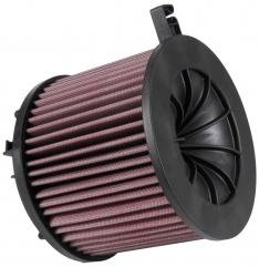 K&N E-0646 15-18 Audi A4 L4-1.4L F/I Drop In Replacement Air Filter