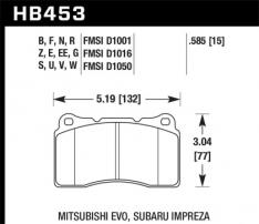 Hawk HB453N.585 03-06 Evo / 04-09 STi / 09-10 Genesis Coupe (Track Only) / 2010 Camaro SS / 08-09 Pontiac G8 GX