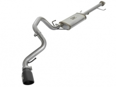 aFe 49-46027-B MACH Force Xp 2.5in SS Cat-Back Single Side Exit Exhaust w/Black Tips 07-14 Toyota FJ Cruiser