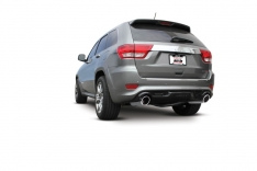 Borla 11827 12-14 Jeep Grand Cherokee SRT8 6.4L 8cyl Aggressive ATAK Exhaust (rear section only)