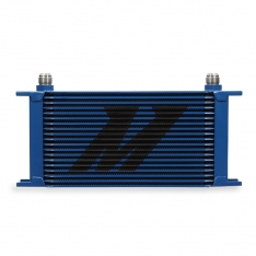 Mishimoto MMOC-19BL Universal 19 Row Oil Cooler – Blue