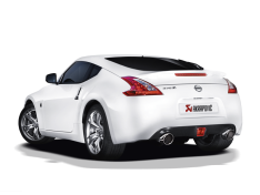 Akrapovic 09-17 Nissan 370Z Slip-On Line (SS) (Req. Tips)