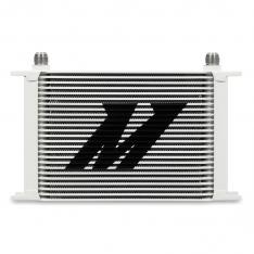 Mishimoto MMOC-25WT Oil Cooler Kit Universal 25 Row – White