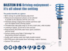 Bilstein B16 Suspension Kit