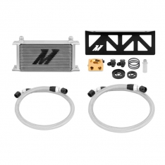 Mishimoto MMOC-BRZ-13T 13+ Toyota 86/ Subaru BRZ/Scion FR-S Thermostatic Oil Cooler Kit – Silver