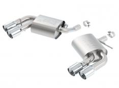 Borla 11926 2016-2019 Chevy Camaro V6 AT/MT S-Type Rear Section Exhaust w/o Dual Mode Valves