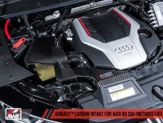 AWE Tuning 2660-15062 Audi B9 SQ5 3.0T AirGate Carbon Fiber Intake w/o Lid
