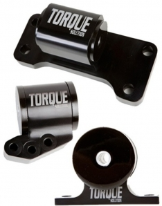 Torque Solution Billet Aluminum 3 piece Engine Mount Kit: Mitsubishi Evolution VII-IX 2001-2006