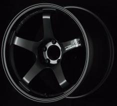 Advan GT 18×10.0 +22 5-114.3 Semi Gloss Black Wheel