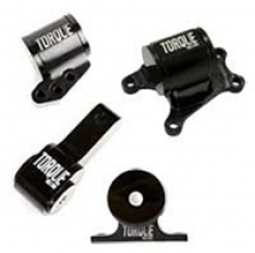 Torque Solution Billet Aluminum 4 Piece Engine Mount Kit: Mitsubishi Evolution VII-IX 2001-2006