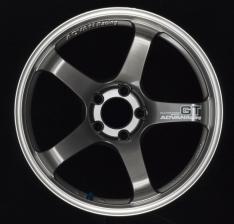 Advan GT 19×9.5 +30 5-114.3 Machining & Racing Hyper Black Wheel