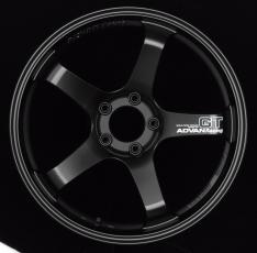 Advan GT 19×10.0 +35 5-114.3 Semi Gloss Black Wheel