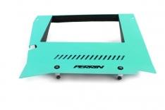Perrin 15-19 Subaru WRX Engine Cover Kit – Hyper Teal