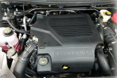 JLT 10-19 Ford Flex EcoBoost V6 Passenger Side Oil Separator 3.0 – Black Anodized