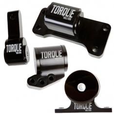 Torque Solution Billet Aluminum 4 Piece Engine Mount Kit: Mitsubishi Evolution 01-06 (5sp Only)