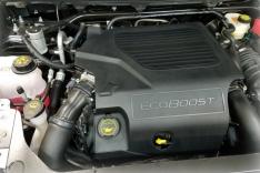 JLT 10-19 Ford Flex EcoBoost V6 Passenger Side Oil Separator 3.0 – Clear Anodized
