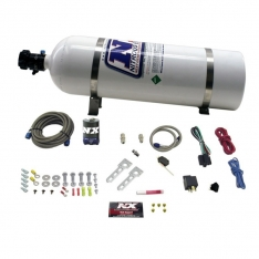 Nitrous Express Diesel Stacker 2 Nitrous Kit w/15lb Bottle