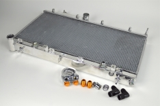 CSF 7042O 08-20 Subaru WRX/STI 2-Row Radiator w/Built-In Oil Cooler