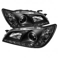 Spyder Lexus IS300 01-05 Projector Headlights Xenon/HID – LED Halo DRL Blk PRO-YD-LIS01-HID-DRL-BK