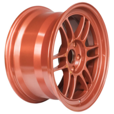 Enkei 3797906535OR RPF1 17×9 5×114.3 35mm Offset 73mm Bore Orange Wheel