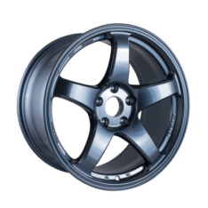 Enkei 527-895-6538MB PF05 18×9.5 5×114.3 38mm Offset 75mm Bore Misty Blue Wheel