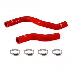 Mishimoto MMHOSE-CTR-17RD 2017+ Honda Civic Type R Silicone Hose Kit – Red