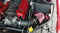 JLT CAI-SRTJ-12-B 12-20 Jeep Grand Cherokee SRT8 6.4L Black Textured Cold Air Intake Kit w/Blue Filter