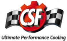 CSF Dual Fluid Bar & Plate HD Oil Cooler w/9in SPAL Fan (1/3 & 2/3 Partition) – 13.8in L x 10in H