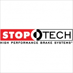 StopTech 06-07 350Z / 05-07 G35 exp Sport/ 06-07 G35X SportStop Slotted & Drilled Front Left Rotor