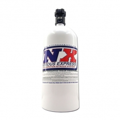 Nitrous Express 10lb Bottle w/Lightning 500 Valve (6.89 Dia x 20.19 Tall)