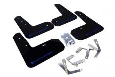 Rally Armor 13+ Subaru BRZ / 13+ Scion FR-S UR Black Mud Flap w/ Blue Logo