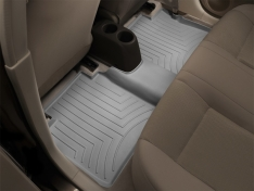 WeatherTech 2014+ Toyota Highlander Rear FloorLiner – Grey (Does Not Fit Hybrid Models)