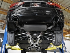 aFe Takeda 49-36131 2.5in to 3in 304 SS Y-Pipe Exhaust System 16-18 Infiniti Q50/Q60 V6-3.0L (tt)