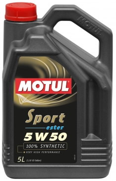 Motul 5L Synthetic Engine Oil Sport 5W50