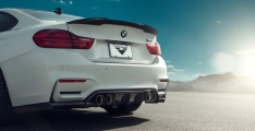 Vorsteiner 4102BMV BMW F8X M3/M4 EVO Aero Decklid Spoiler Carbon Fiber 1×1 Glossy (F82 M4 Only)