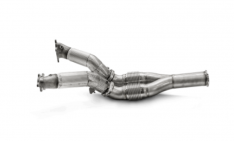 Akrapovic DP/L-NI/SS/1 08-20 Nissan GTR (R35) DownPipe (SS) for Stock Turbochargers