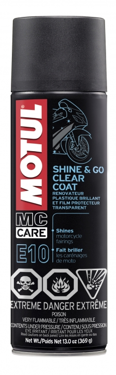 Motul 13oz Cleaners SHINE & GO – Silicone Clean (13 oz)