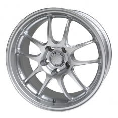Enkei 460-895-6615SP PF01 18×9.5 5×114.3 15mm Offset 75 Bore Dia Silver Wheel
